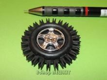 چرخ روبات 45 میلیمتری