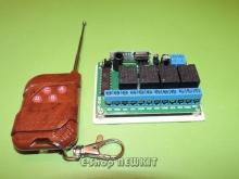 ریموت کنترل 4 کاناله حرفه ای کدفیکس