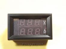 ولتمتر - آمپرمتر دیجیتال پنلی