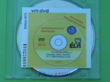DVD مشخصات و معادلات کلیه نیمه هادیها  VRT-DVD 2015