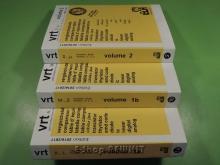 کتاب جدول معادلات و مشخصات نیمه هادیها 3 جلدی  VRT 2016/2017