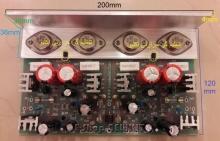 آمپلیفایر استریو تمام ترانزیستوری 180 وات RMS حرفه ای ON