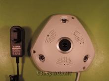 دوربین مدار بسته پانورامیک وای فای