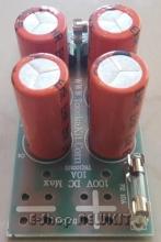 مدار یکسو کننده و صافی (حداکثر100V-10A)