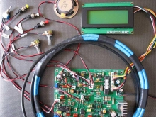 فلزیاب آموزشی جدید وایکینگ پلاس با LCD و تفکیک سری B2