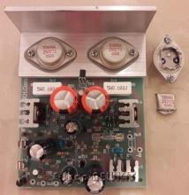 آمپلیفایر مونو تمام ترانزیستوری 90 وات RMS حرفه ای TOS