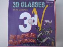 عینک 3 بعدی به همراه 3CD