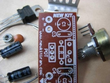 رگولاتور ولتاژ با خروجی قابل تنظیم از 5 تا 12 ولت
