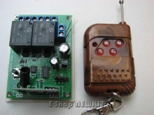 ریموت کنترل 2 کاناله حرفه ای کدلرن