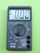 مولتی متر دیجیتالی DT700D