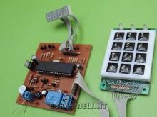 تایمر دیجیتالی 4 حالته با AVR