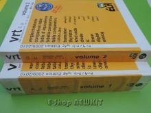 جدول معادلات و مشخصات نیمه هادیها 2 جلدی  VRT 2009/2010